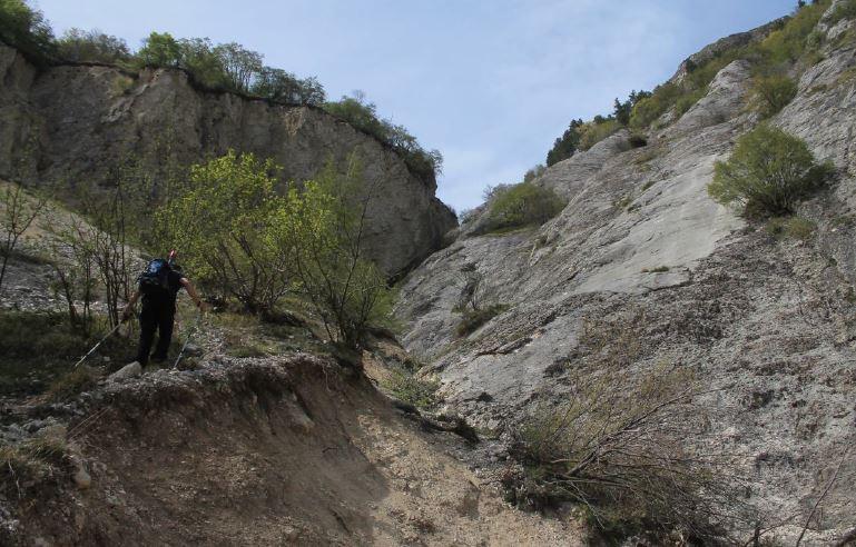 Il fosso di San Simone nel maggio 2015